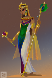 Princess of the Convergent Kingdom by Gryphon-Shifter