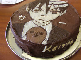 Soul Eater Birthday Cake