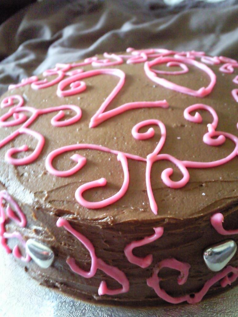 Chocolate 20th Birthday Cake By Megwhiteiii On Deviantart