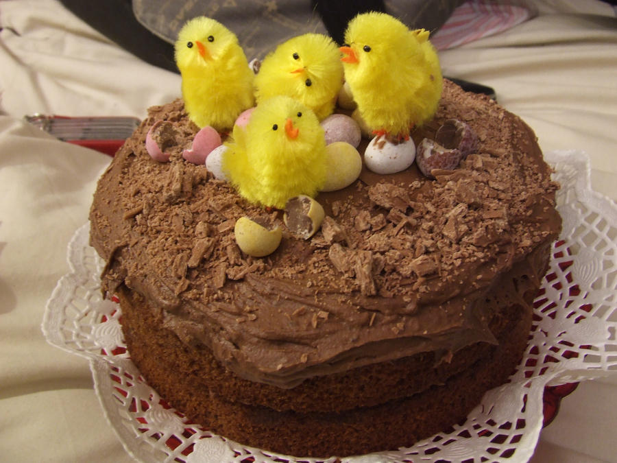 Chocolate Easter Cake Images : Chocolate Easter Cake by MegWhiteIII on DeviantArt