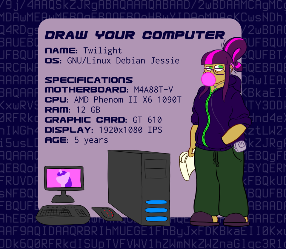 #DrawYourComputer by Turag