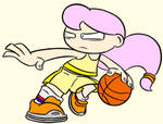 Eva playing basket by Turag