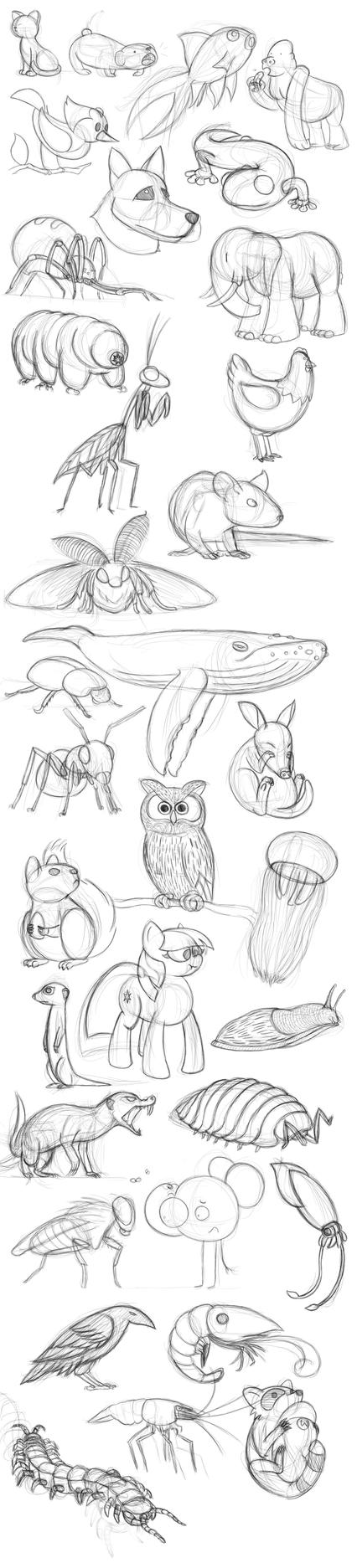 May 2017 sketchdump by Turag