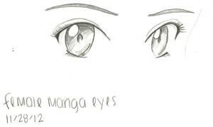 Female Manga Eyes