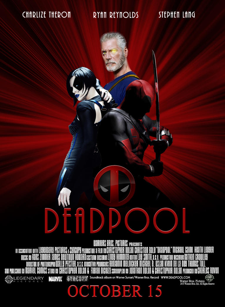 Deadpool Fake Movie Poster by Sinister666beauty on DeviantArt