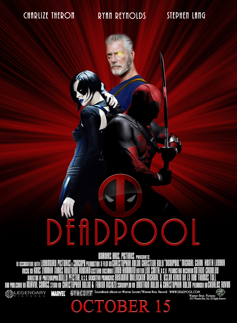 Deadpool Fake Movie Poster by Sinister666beauty