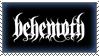 Behemoth Stamp by Sinister666beauty