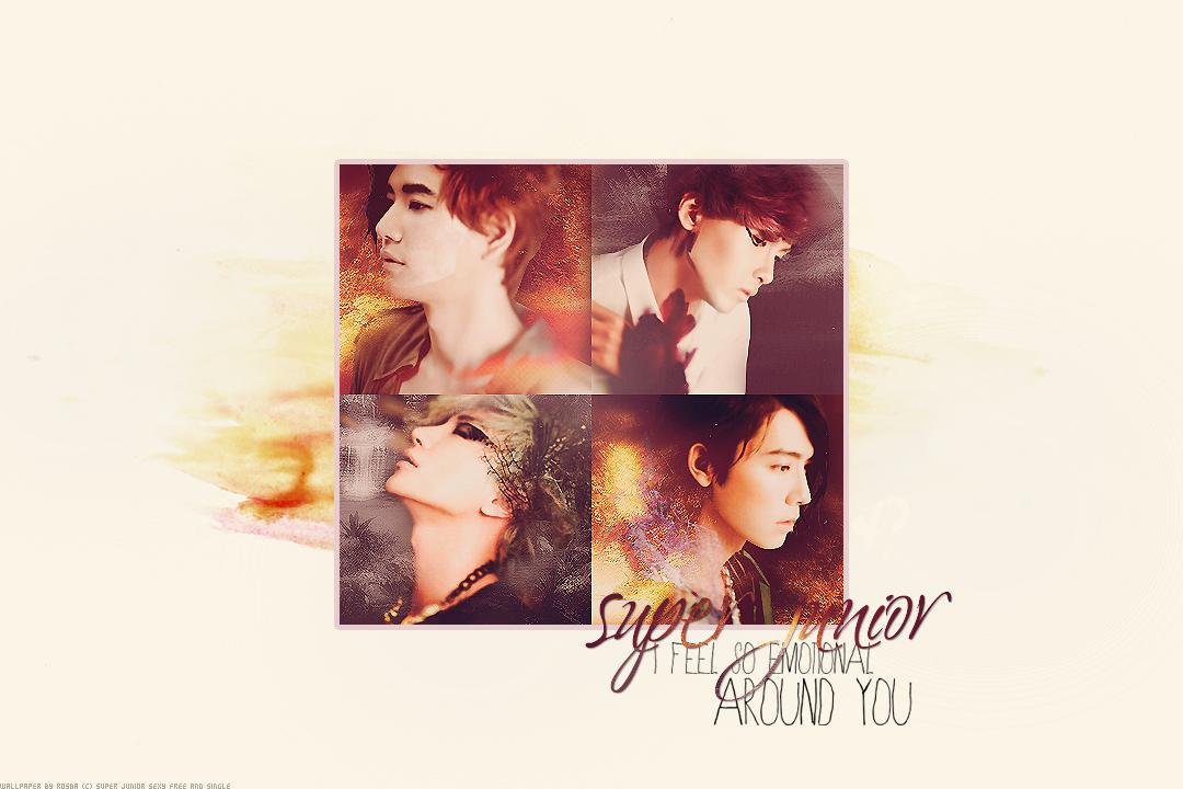 Wallpaper Super Junior by Rosba18