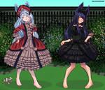Commission Gothic Lolitas by SenorlemonMG98
