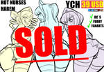 YCH4:Hot Nurses Harem (Sold) by 27Lsd