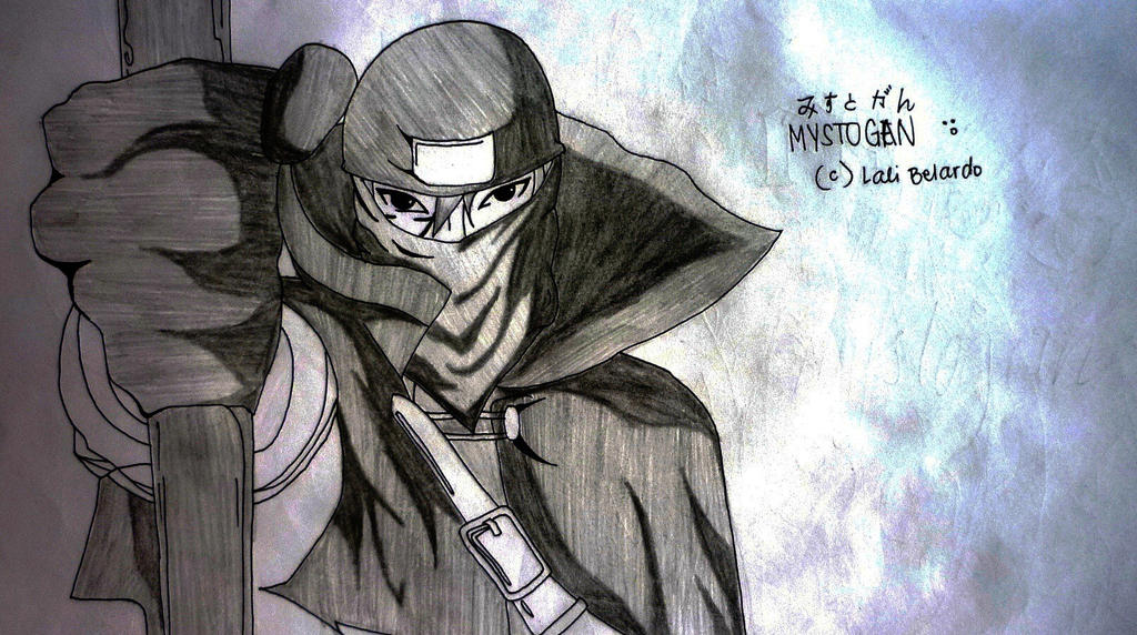 Mystogan from Fairy Tail by MuggleDirection on DeviantArt