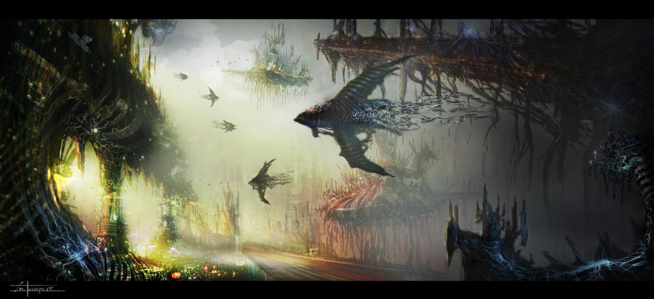 Sci-Fi Study by zakforeman