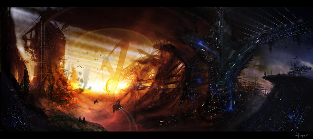 Sci-Fi Study 2 by zakforeman
