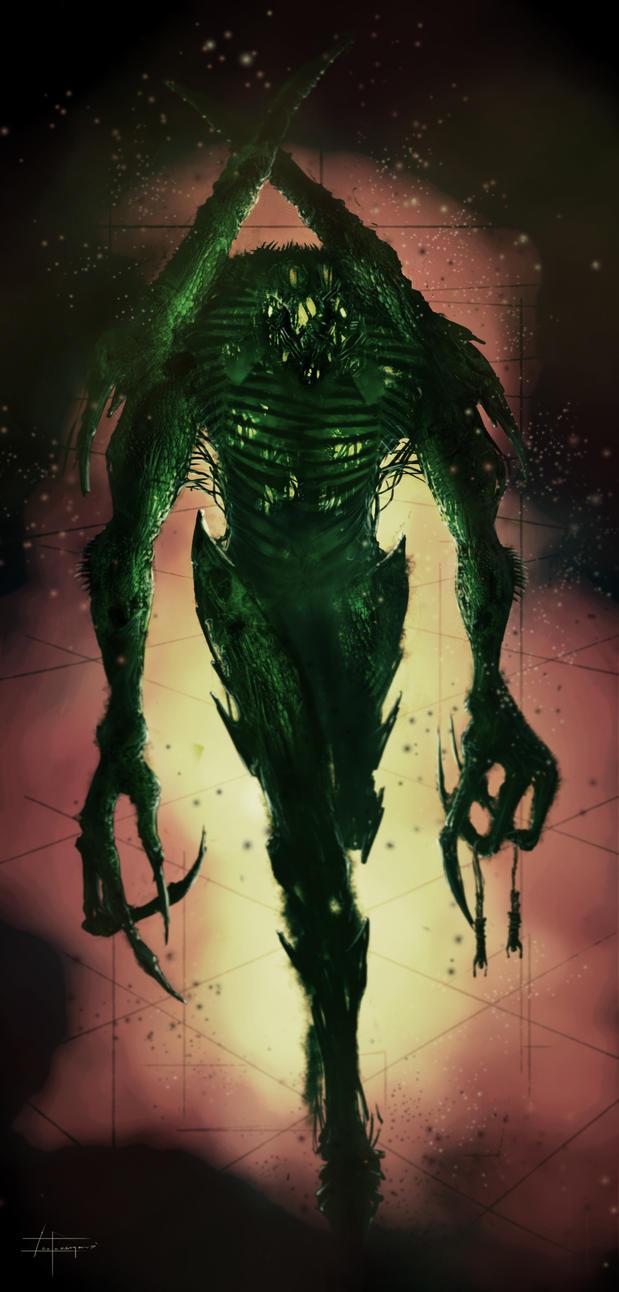 Quick demon sketch by zakforeman