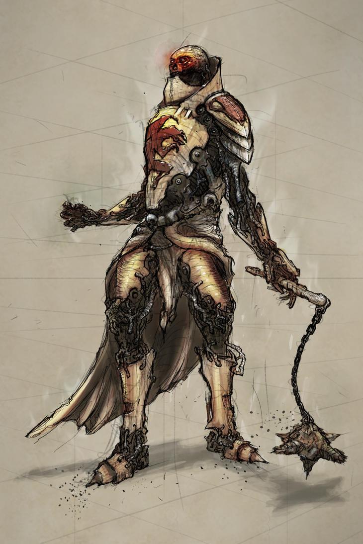 Zombie knight by zakforeman