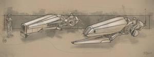 Speeder Sketches