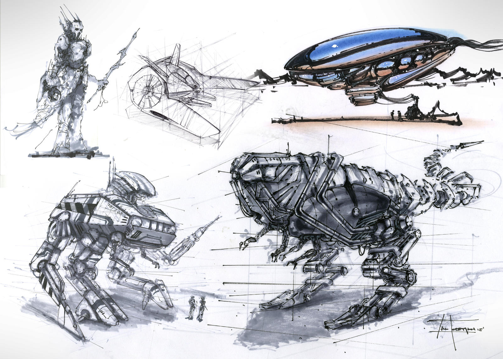 Big sketch dump by zakforeman