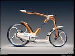 Sci Fi bike Render