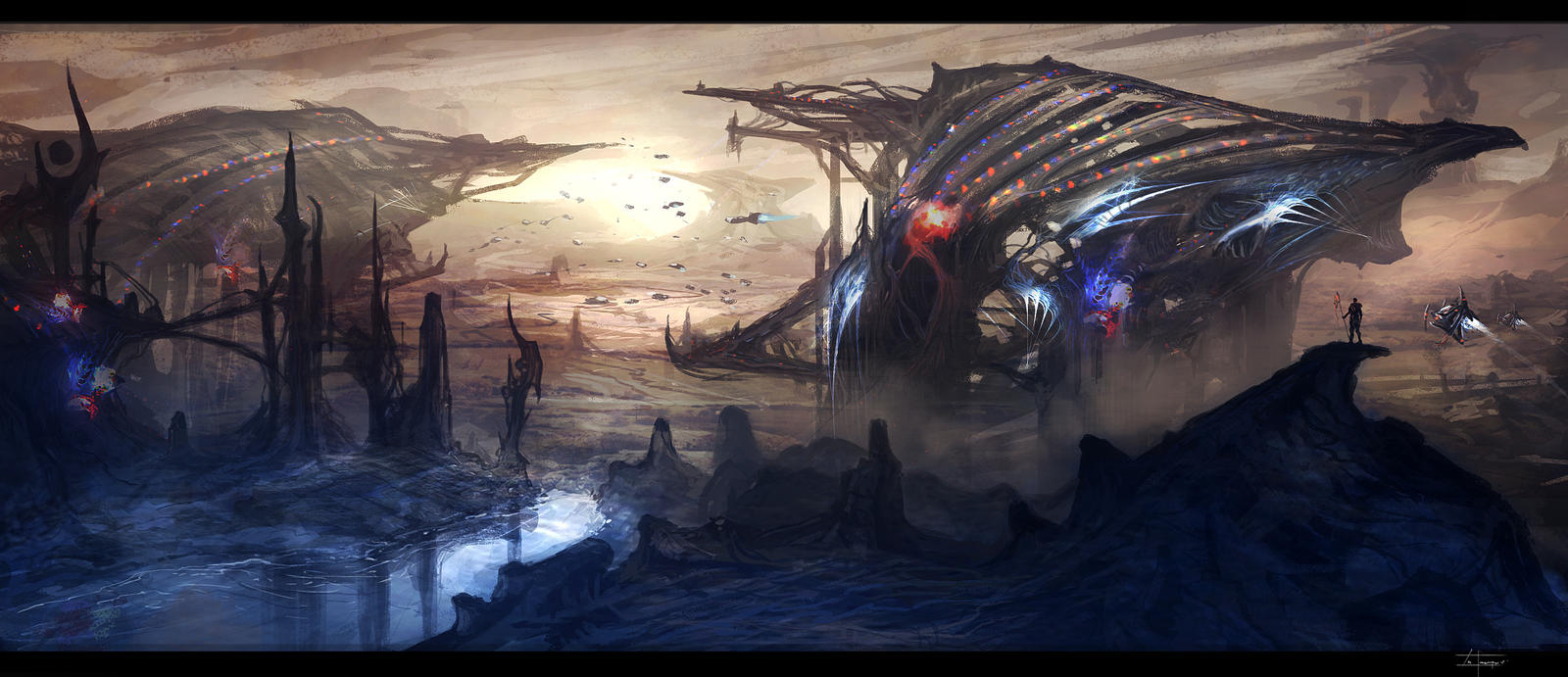 Alien home world (12-24-12) by zakforeman