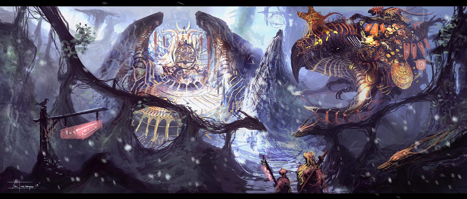 1-3-13 (fantasy) by zakforeman