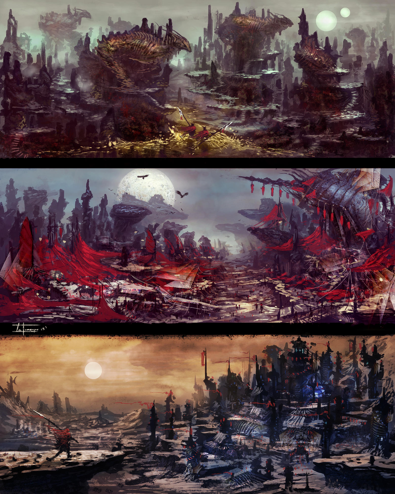 Fantasy Enviros by zakforeman