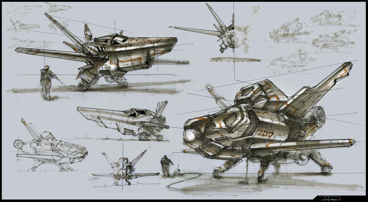 Planes (1-13-1) by zakforeman