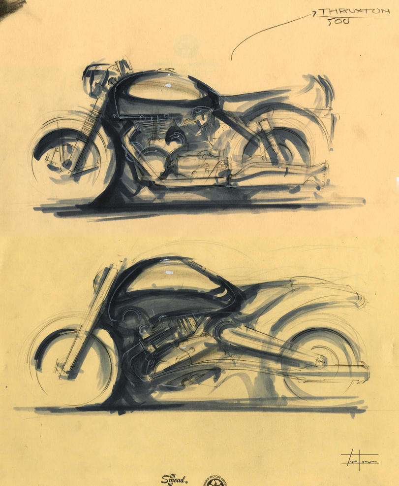 motorcycle sketches by zakforeman on deviantart