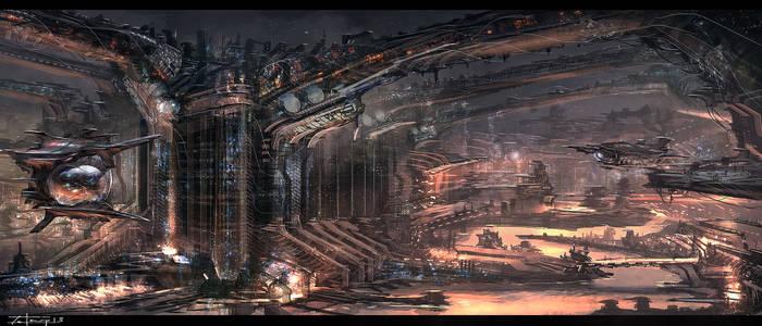 sci fi city (3-21-13)