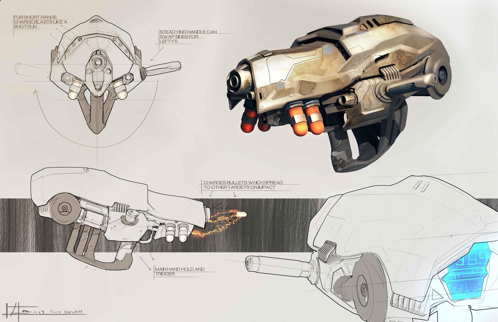 Gun by zakforeman