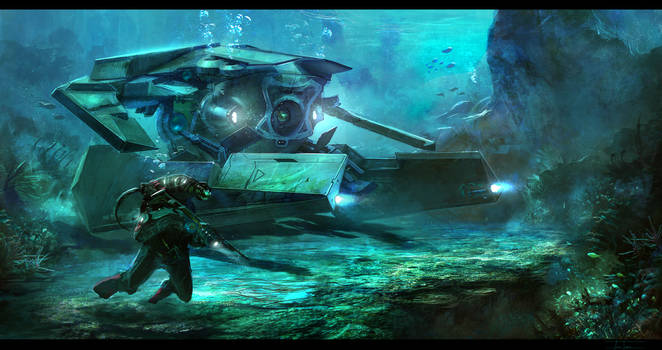 Under Water Drone by zakforeman