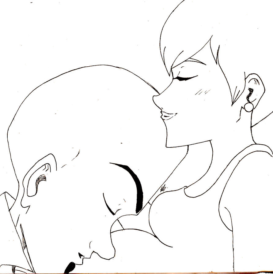 Roxanne and megamind kissing by arika27 on deviantart for Megamind coloring pages