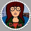 Daria Series: Daria Stamp by xavs-stamps