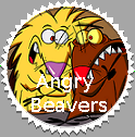 Angry Beavers Fan Stamp by xavs-stamps