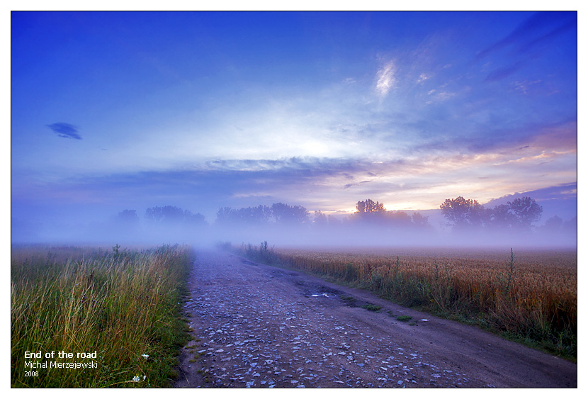 End of the road by werol