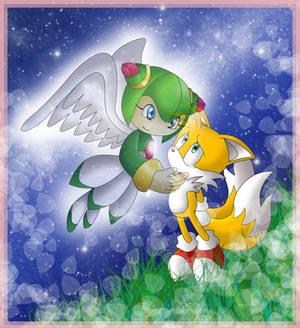 Pedido - Tails y Cosmo by princesayuuki