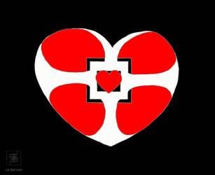 Framed | A Heart in a Heart by Team L.A. Zen by 2snails1shell
