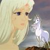 The Last Unicorn Icon by NocturneViolin