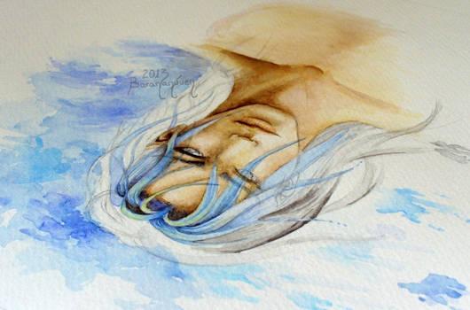 WATERcolor portrait - Reflection