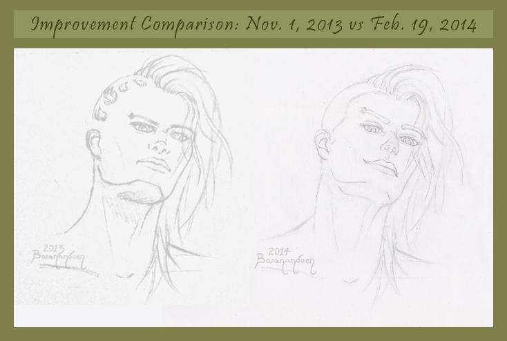 Fire04 - sketch improvement comparison by barananduen
