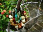 Bracelet - Nature Tones Multistrand