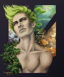 Aedan - Fae Dressed in Ivy