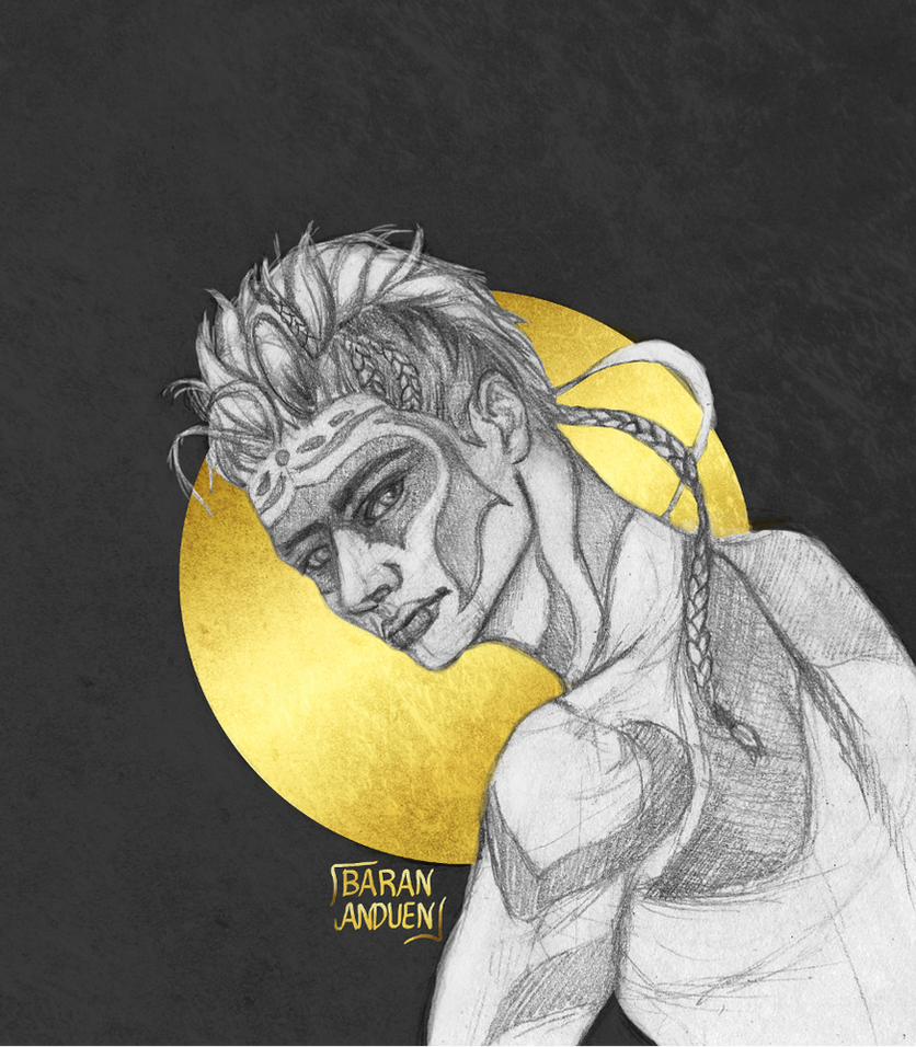 Zebra Man Sketch