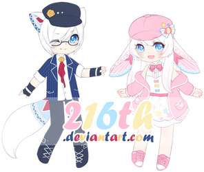 MYO Lacie and Doilie