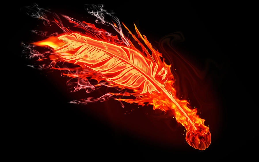 Buy Here Pay Here Phoenix >> Fire feather by brent-the-claw on DeviantArt