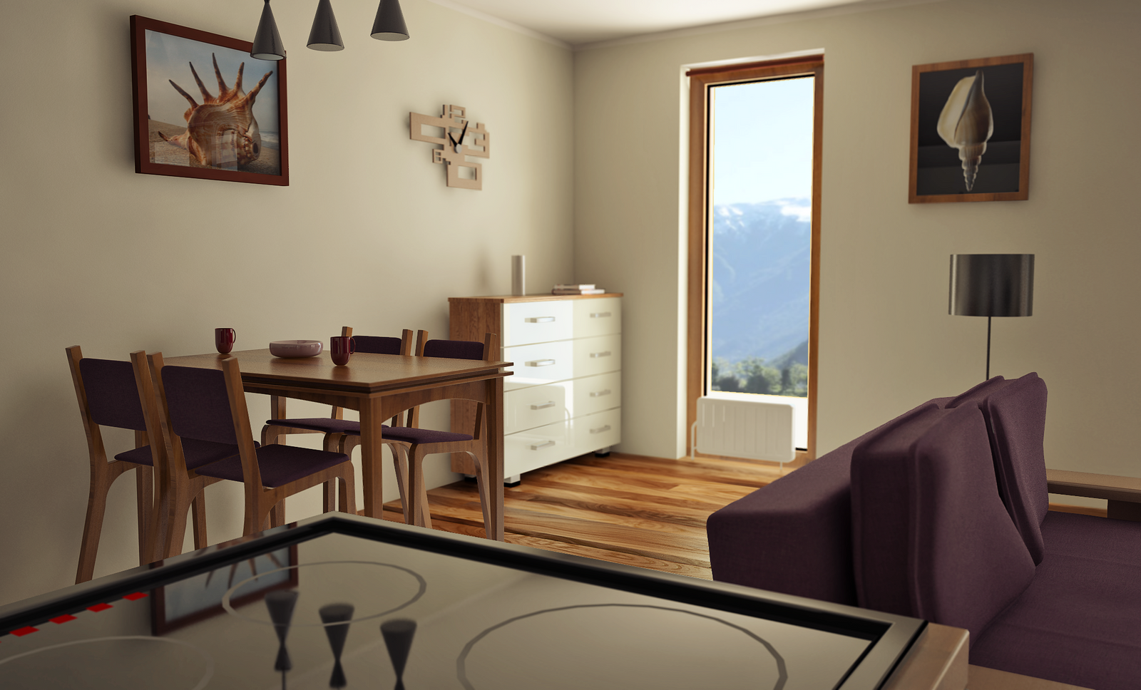 ... Dining Room Sketchup Pro Vray Artisan By Brent The Claw