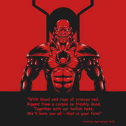 Atrocitus - with red lantern oath