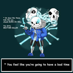 Sans Fight (maybe spoiler warning I guess?)