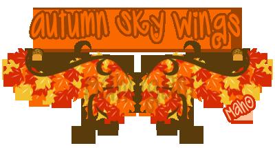 Autumn Wings Sample by Mahogani