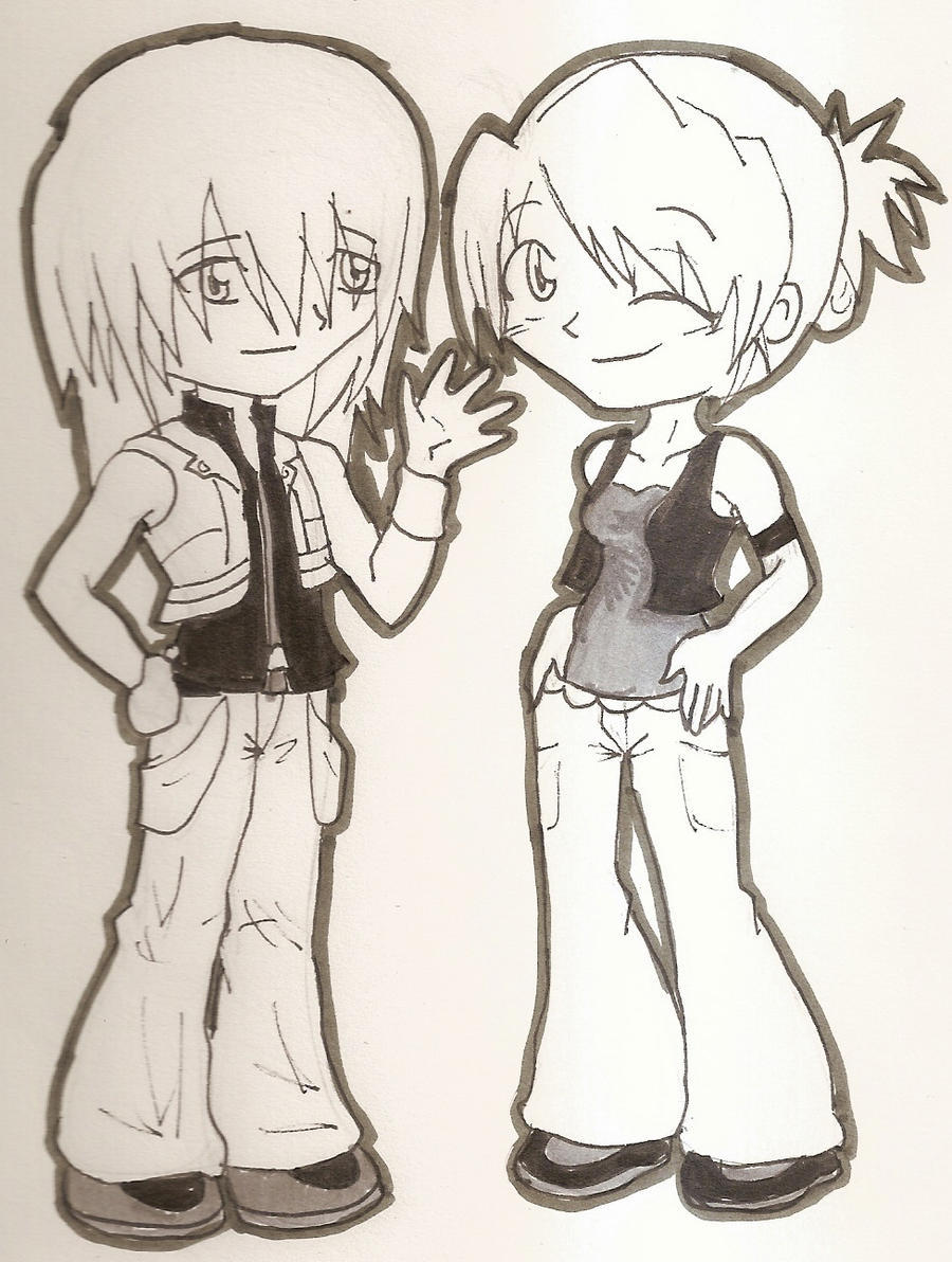 Riku and Me by FeedTheBirds