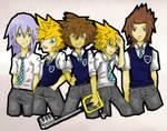 Keyblade gang Complete